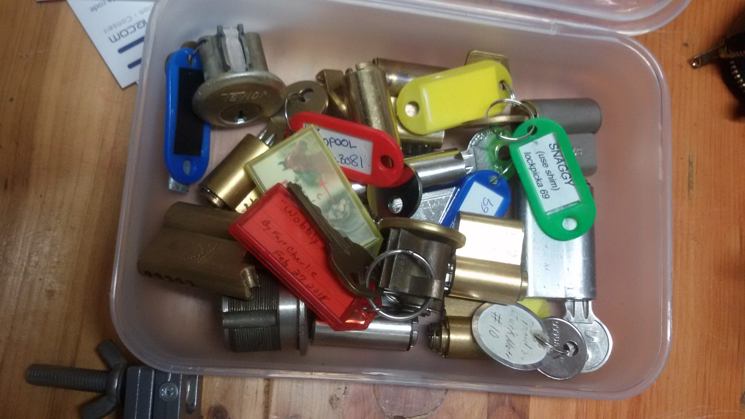 Quelques Challenges Locks